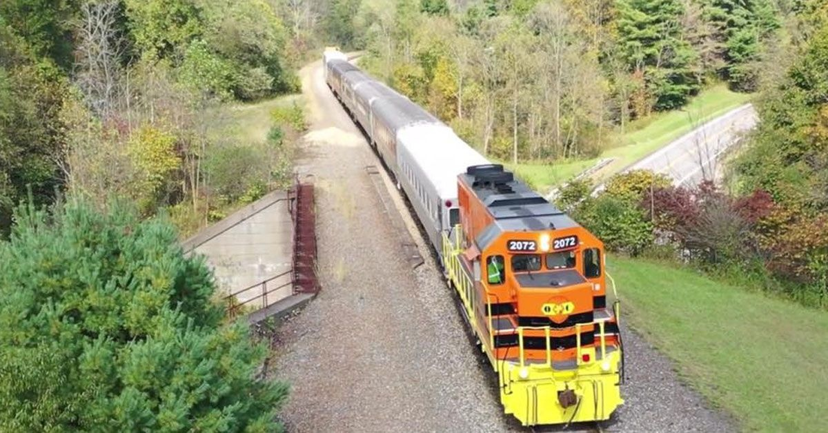 Tickets On Sale For Dennison Depot S Fall Holiday Train Rides